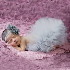 infant photo props newborn baby photography props tutu skirt with headband infant