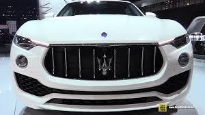 suv maserati black 2017 maserati levante exterior and interior walkaround 2016