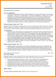 7 project management resume samples letter of apeal