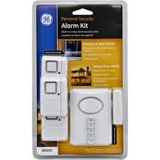 ge personal security wireless alarm kit includes 1 deluxe door