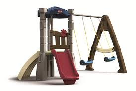 ideas charming little tikes swing set a must for kids