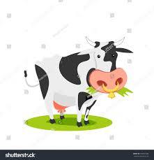 cartoon cow vector illustration stock vector 644931034 shutterstock