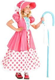 Strawberry Shortcake Halloween Costumes Partybell Polka Dot Bo Peep Child Costume