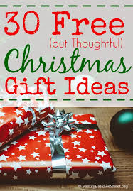 30 free but thoughtful christmas gift ideas family balance sheet