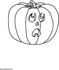 pumpkin head coloring pages hellokids