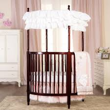round baby cribs  babiesrus with dream on me sophia posh circular crib  cherry from toysruscom