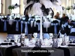 black and white wedding decorations black and white wedding decor