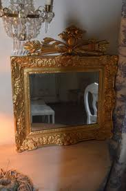 antiker spiegel gold antiker schwedischer barock spiegel bei pamono kaufen