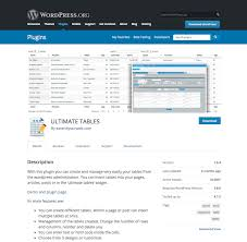 Wordpress Tables 10 Best Wordpress Plugins To Create Tables