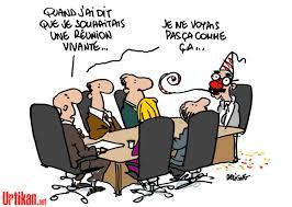 dessin humoristique travail bureau l avide réunion réunions bureau et temps plein