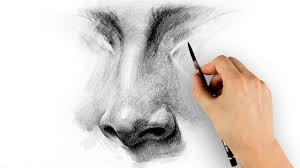 how to draw a nose u2013 step by step proko