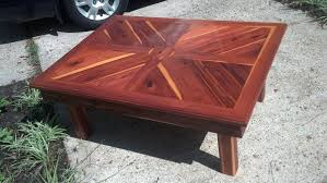 Red Cedar Outdoor Furniture by Cedar Outdoor Coffee Table By Justin Lumberjocks Com
