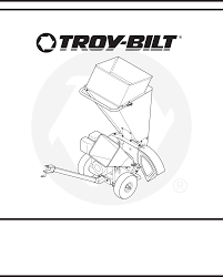 troy bilt chipper 410 420 user guide manualsonline com