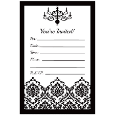 black and white invitations pin by arleen correia on s birthday free