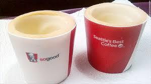 Coffee Kfc kfc is testing edible chocolate coffee cups