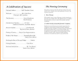 ceremony programs template 5 graduation ceremony program template word monthly budget forms