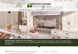 marchand creative kitchens web design by mdg covington la
