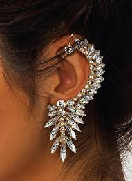 one side feather earring earrings for one ear best earring 2017
