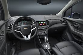 bentley steering wheel snapchat chevrolet introduces a refreshed 2017 trax just 13 months af 4 1500x1000 jpg ver u003d1