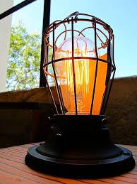diy industrial table lamp vintage industrial table lamp lighting