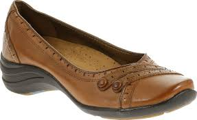 I Love Comfort Shoes At Sears Hush Puppies Women U0027s Burlesque Leather Slip On Casual Shoe Tan
