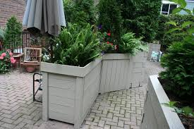 large planter boxes amazing trellis fence amp gate makers