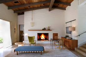 wall tiles design for living room midcentury with modern fireplace