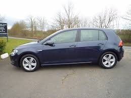 used blue vw golf for sale suffolk