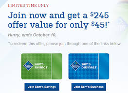 sams club business cards sam s club membership deal 45 for membership free food 20
