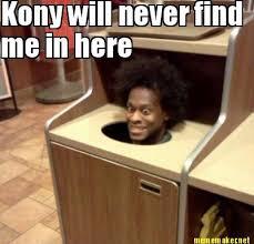 Kony Meme - missed one kony