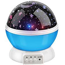 Rotating Night Light Projector Bestfire Novelty 360 Rotating Round Night Light Projector Lamp