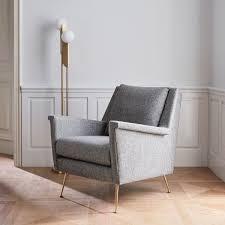 Mid Century Chairs Uk Carlo Mid Century Chair Granite West Elm Uk