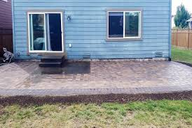 Small Paver Patio by Lacey Paver Patio Extension Ajb Landscaping U0026 Fence