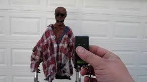 corpse walker animated lifesize halloween prop youtube