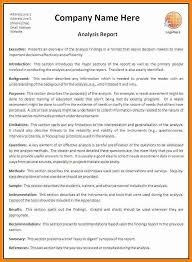 example of a business report format 17 business report templates
