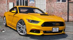 mustang modified 2017 2015 ford mustang gt gta5 mods com