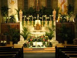 religious easter decorations church decoration ideas agreeable joseph catholic church