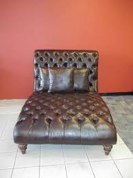 Chaise Lounge Leather Furniture Comfortable Leather Chaise Lounge For Luxury Interior