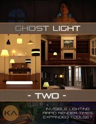 iray ghost light kit 2 3d models and 3d software by daz 3d