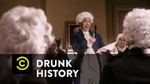 drunk history john adams vs thomas jefferson youtube