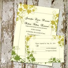 autumn wedding invitations autumn wedding invitations invitesweddings