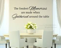 Dining Room Wall Decals Dining Room Decals Etsy