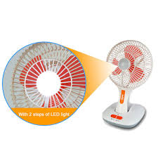 df803 8 inch low price battery charger table fan with light buy