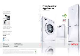 bosch freestanding appiances 2013 by spring2 digital media issuu