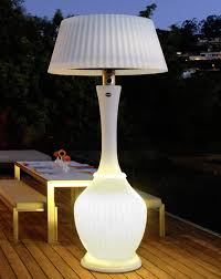 Patio Heater With Light Kindle Patio Heater White Town Country Event Rentals