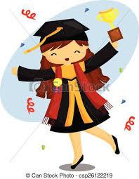 graduation items graduation items stock illustration search clip drawings