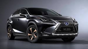 lexus suvs 2017 lexus unveils refreshed 2018 nx300 and nx300h at the shanghai