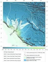 figura 3 u2013 mapa batimétrico da bacia da foz do amazonas mostrando