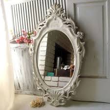 Bathroom Mirror Vintage Shabby Chic Vintage Mirror Products On Wanelo
