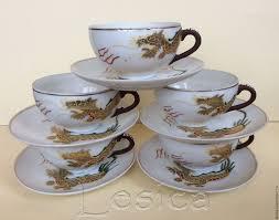 buy tea set dragons satsuma japan 30 40gg on livemaster online shop